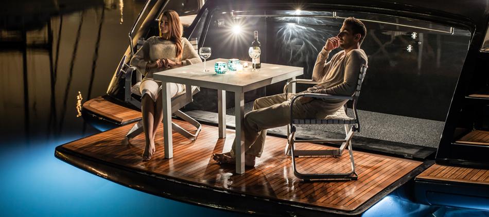 Stoelen yacht
